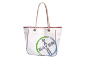 100% cotton canvas tote with cotton rope handles CV130613