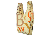 Colorful English Letters Printed Beach bag TB122155