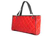 Woman Lady Quilting Bag with Large Zipper Tote Bag  TB111222
