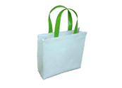 Simple Large Roomy White Promotional bag Tote Bag  TB120803