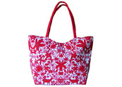 Chinese Paper Cutting Printed Beach Bag Tote Bag TB090848