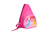 Child sling backpack scool bag with print PVC panel  BP090849