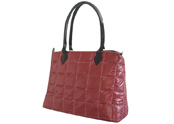Taffeta quilted with check pattern ladies' fashion handbag TB111014
