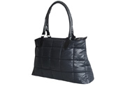 Woman Lady Quilting Bag with Large Zipper Tote Bag TB111221