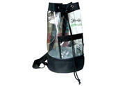 Clear PVC cylinder shape sling backpack with cooler bottom BP1410012