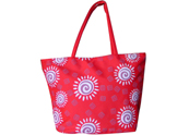 New Style Sunflower Printed Beach Tote Bag TB090850