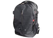 Leisure  with zipperpockets custom logo laptop backpack  BP120514