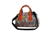 Colourful Printed Tote bag with large zipper TB120229