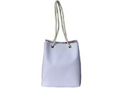 Lady White Rope tote bag with Large Roomy TB140728