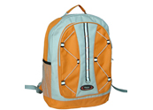 Backpack with mesh pocket &rubber band decoration  BP090847