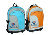 Polyester school backpack with custom Logo   BP090857