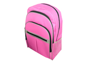 zippered pockets backpack with laptop compartment BP110829