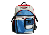 Sport backpack  with 9 outer pockets   BP090853