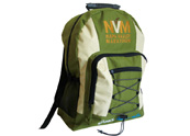 Heavy yarn backpack with laptop compartment BP090854