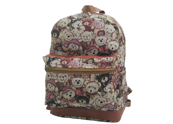 Jute Canvas Backpack CV160721