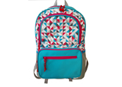 Printed Nylon School Backpack BP070701