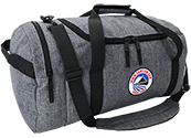 900D grey pocketable duffle bag DF425
